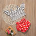 Minnie Stripe Top + Polka Short