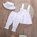 Ruffled Dress Top Clothing Set