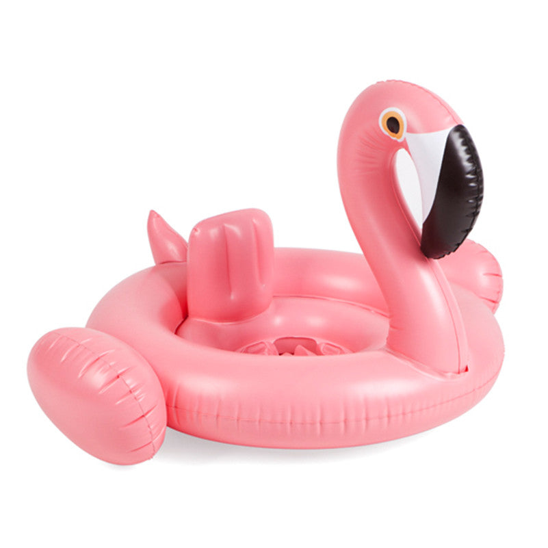 Inflatable Flamingo Baby Float