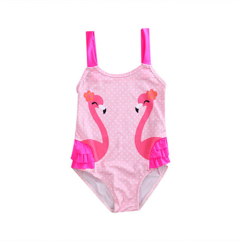 Flamingo Bathing Suit