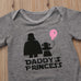 Daddy's Princess Bodysuit - FREE