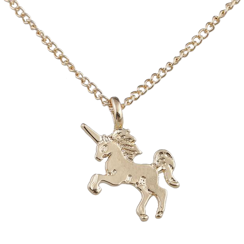 Classic Unicorn Pendant Necklace
