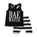 Bae Watch Short Clothing Set