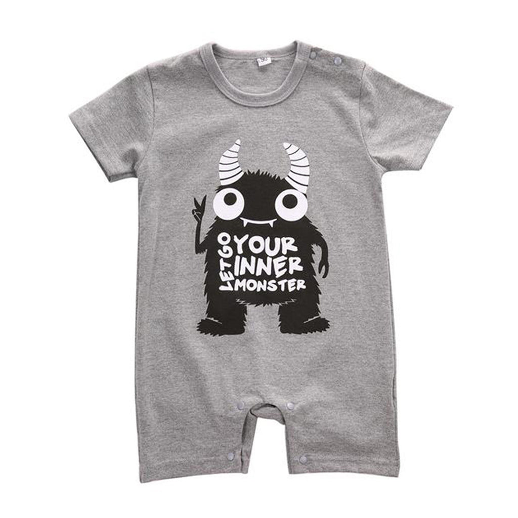 Monster Boys Summer Romper