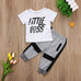 Little Boss Top + Pants