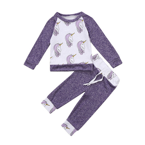 Unicorn Pullover Top + Pants