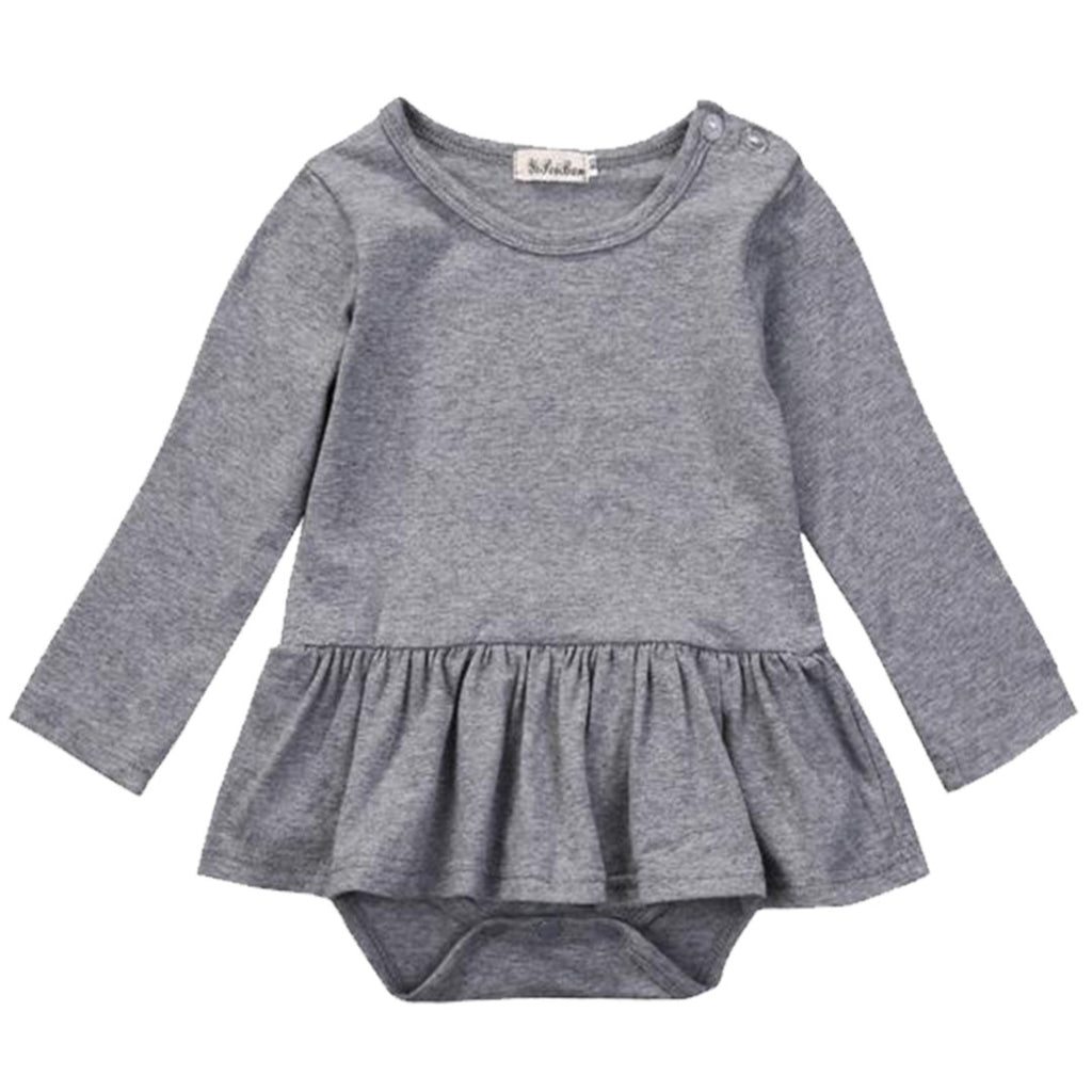 Grey Tutu Bodysuit