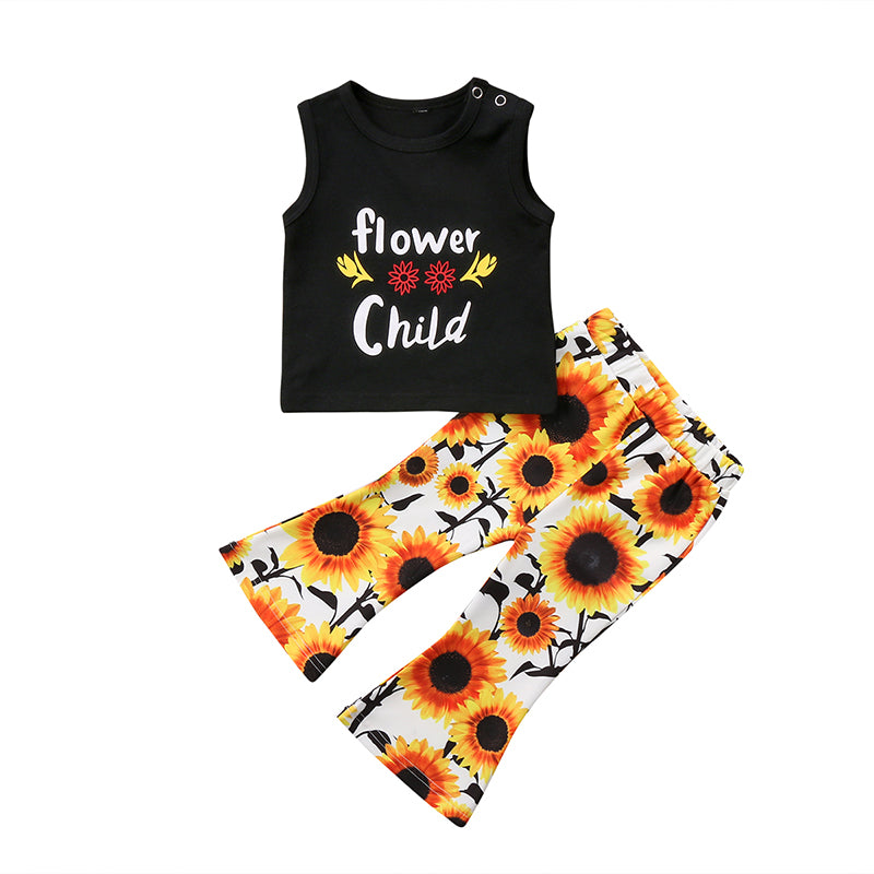 Flower Child Top + Sunflower Bell Pants