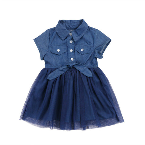 Stella Denim Tutu Dress
