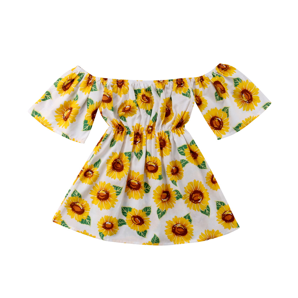 Maya Sunflower Sundress