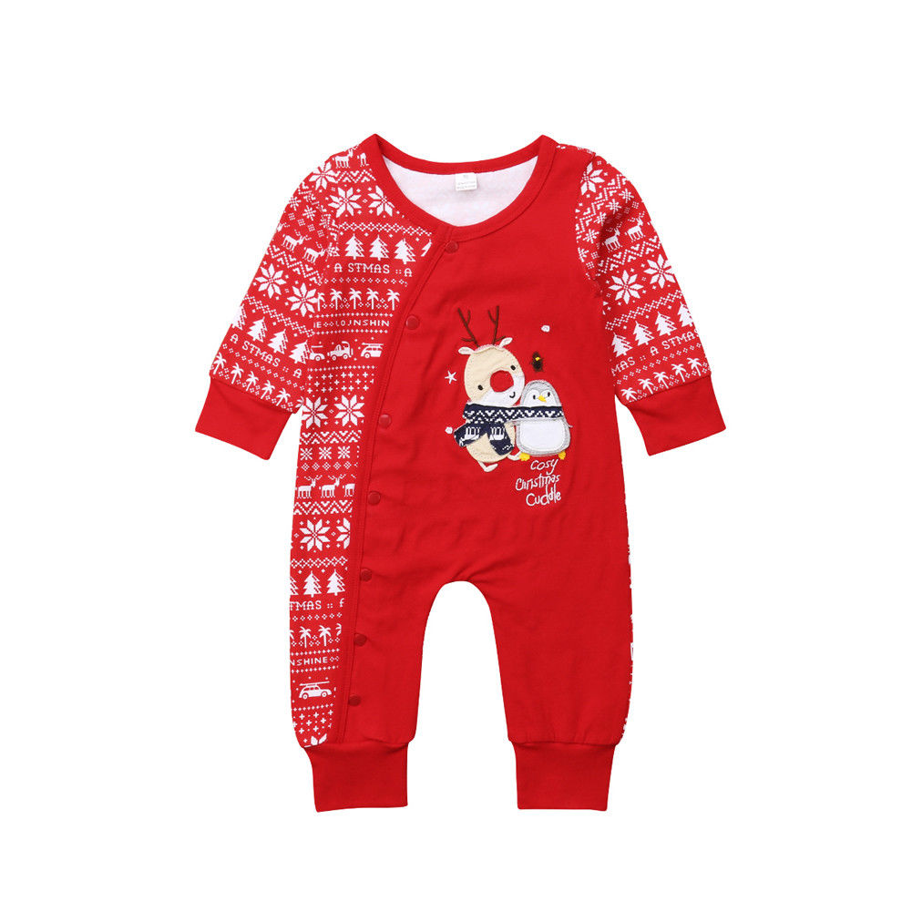 Cosy Christmas Cuddle Jumpsuit