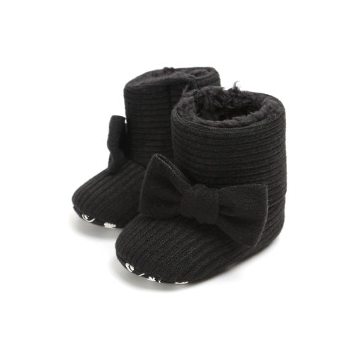 Bowknot Soft Sole Boots