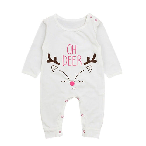 Oh Deer Christmas Jumpsuit