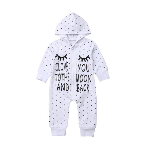 Moon And Back Hooded Jumpsuit