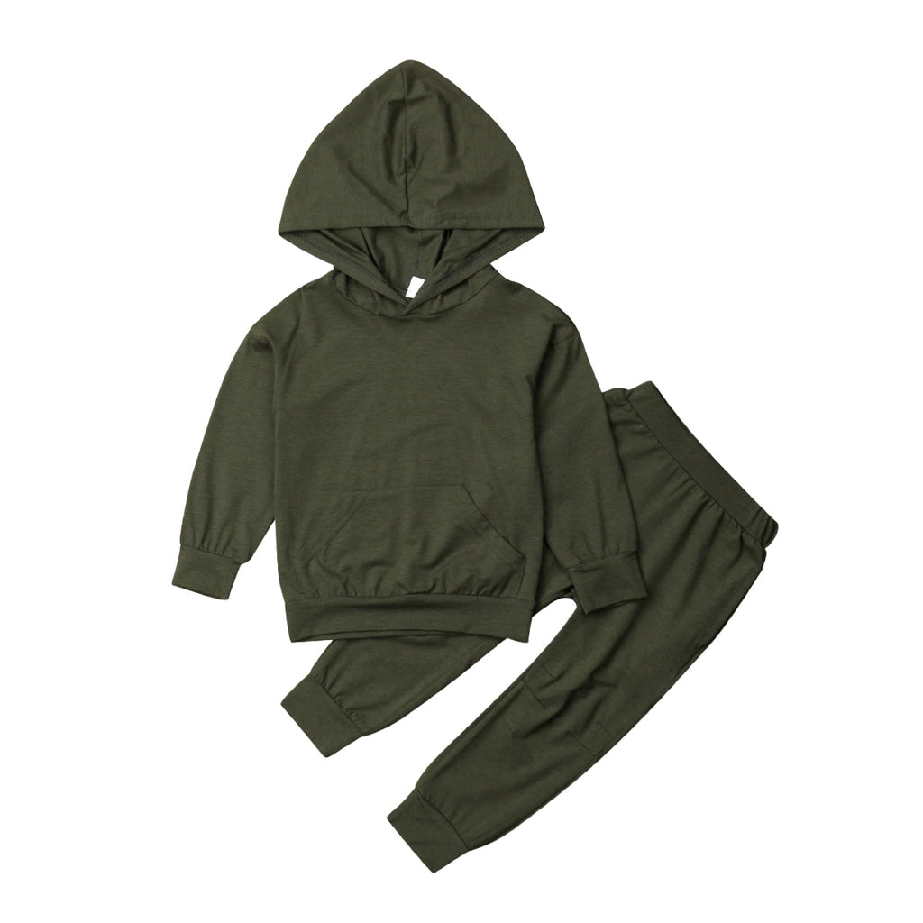Long Sleeve Hooded Top + Pants