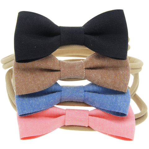 Bow Knot Headband 4pcs Set