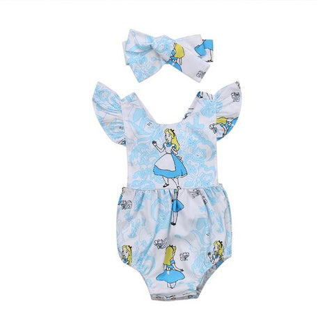 Alice Romper + Headband