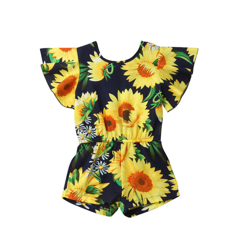 Celina Sunflower Romper