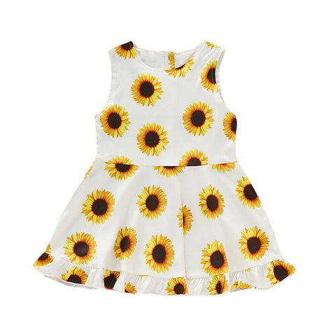 Katy Sunflower Dress