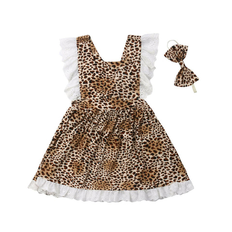 Briella Leopard Dress + Headband