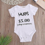 Hugs Baby Boy Bodysuit