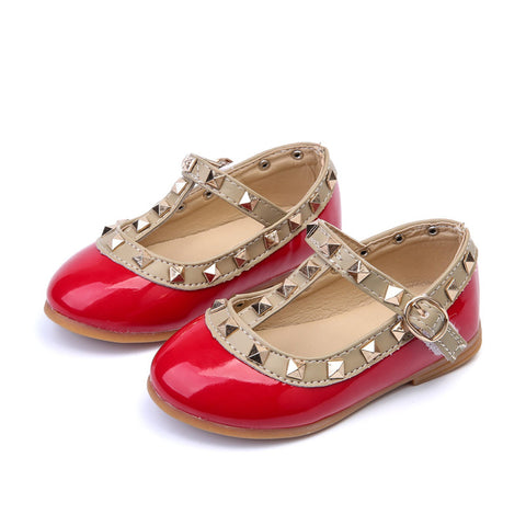 Rock Stud Kids Flats