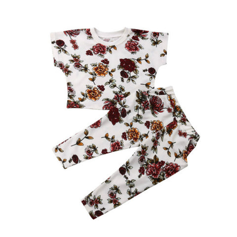Ana Floral Top + Pants
