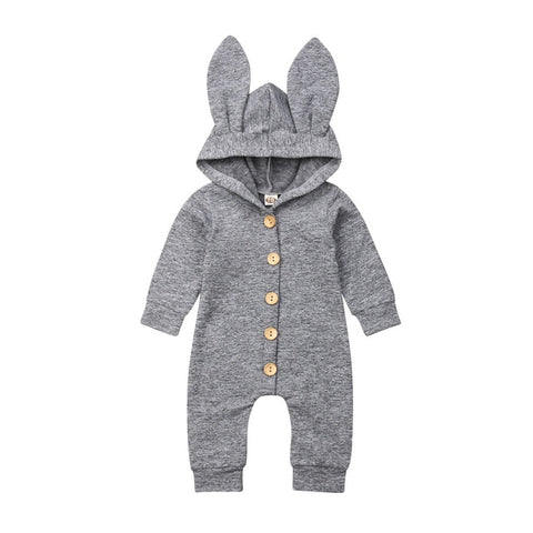 Bunny Ear Button Jumpsuit