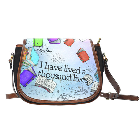 Book Reader Saddle Bag