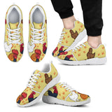 Art Chicken Athletic Sneakers