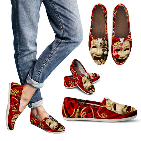 Comedy and Tragedy Casual Shoes