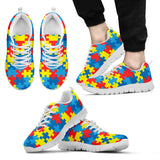 Autism Awareness Sneakers-Clearance