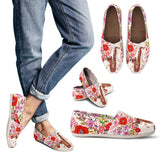 Floral Saxophone Casual Shoes