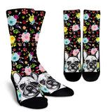 Artsy Frenchie Socks