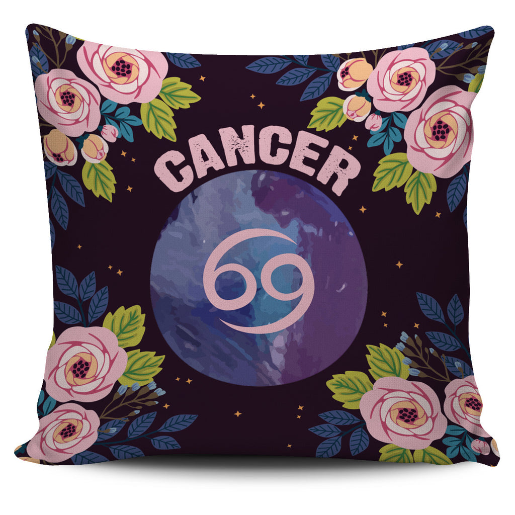 Cancer Vibes Pillow Cover