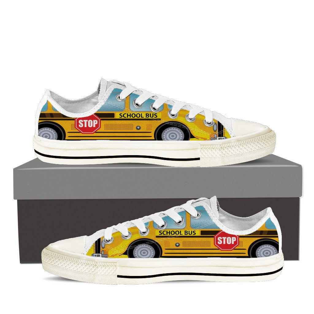 School Bus Shoes Groove Bags
