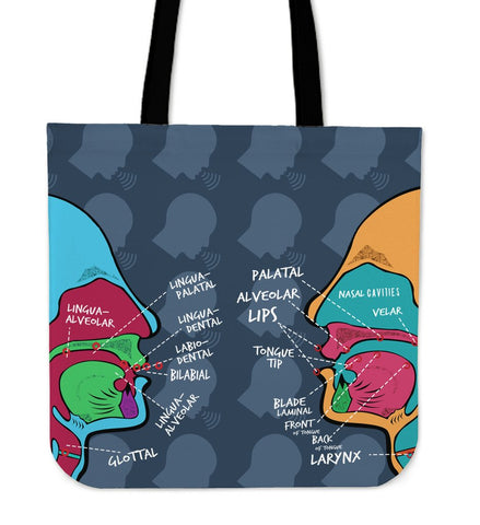 Speech Pathologist Linen Tote Bag
