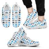 Elephant Pattern Sneakers