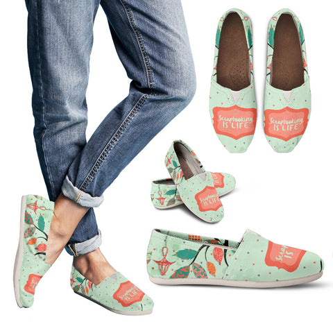 Scrapbooking Lifestyle Casual Shoes