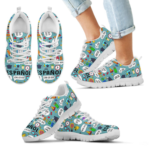 Kids Spanish Teacher Sneakers