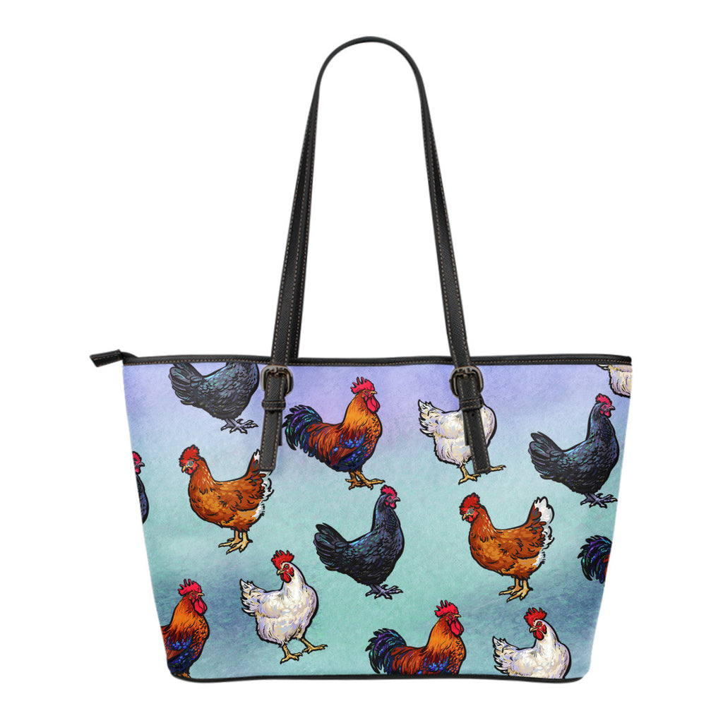 Farm Chicken Tote Bag