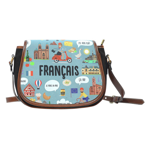 French Teacher Saddle Bag