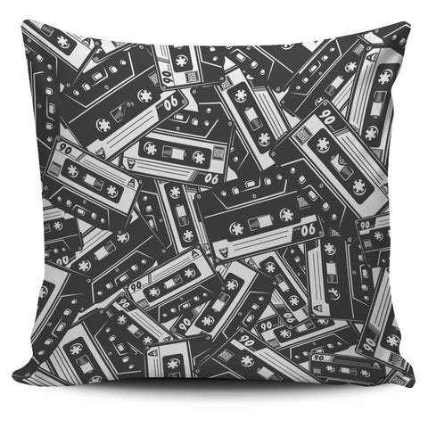 Cassette Tape Pillow Cover