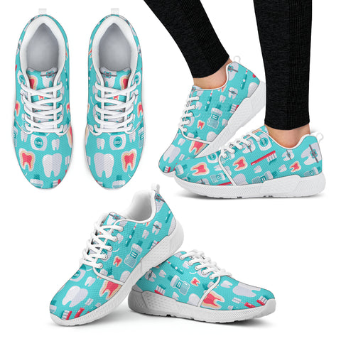 Dentist Pattern Athletic Sneakers-Clearance