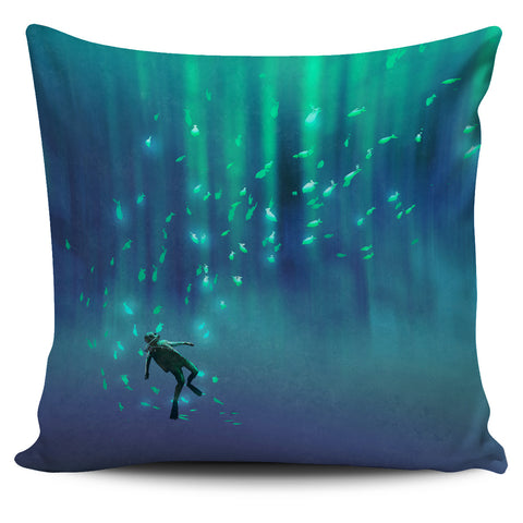 Scuba Dream Pillow Cover