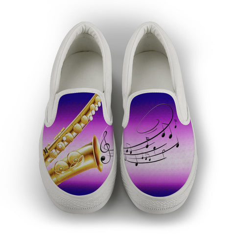 Saxophone Slip On Shoes