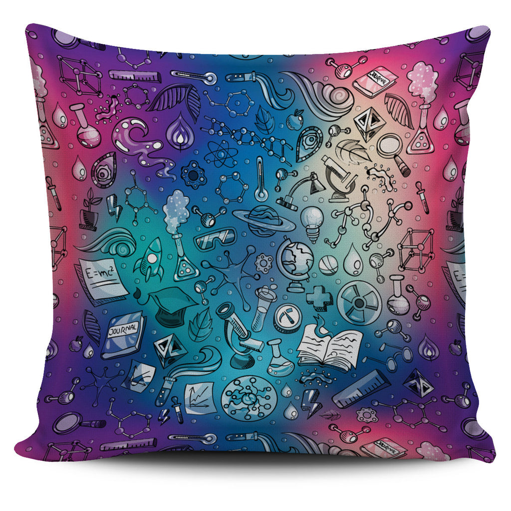Rainbow Science Pillow Cover