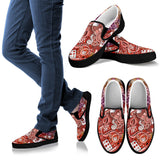 Colorful Art Slip Ons