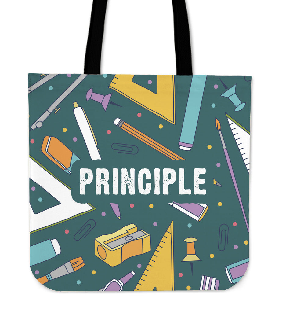 Principle Stationery Linen Tote Bag