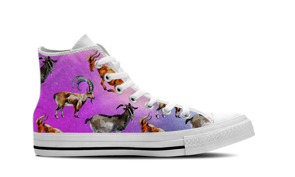 Goat Pattern Shoes – Groove Bags